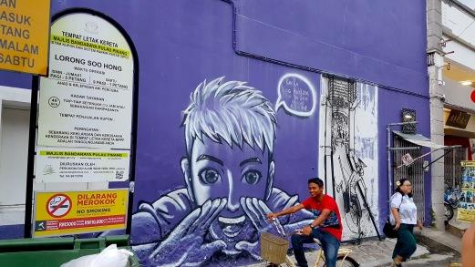 """Purple Hokkien"" by Jim Oo Chun Hee and John Cheng,Lorong Soo Hong , George Town"