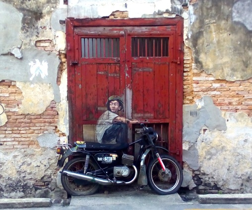 """Boy on a Bike"", Ah Quee Street, George Town"